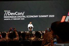 Presiden Joko Widodo harap Indonesia bukan hanya konsumen teknologi