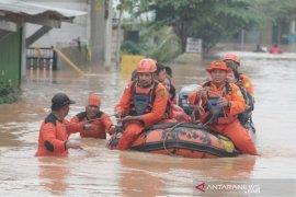 Banjir di Karawang sudah mulai surut
