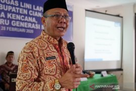 BKKBN Jabar berikan bimbingan untuk petugas lini lapangan di Cianjur