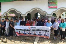 Bawaslu Sulut safari peduli bencana alam Bolmut