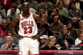 Jersey Chicago Bulls milik Michael Jordan terjual Rp4,5 miliar