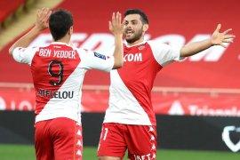 Monaco merangsek ke posisi tiga usai kandaskan Nimes 3-0