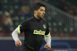 Pulih dari COVID-19, Luis Suarez akan berlatih lagi dengan Atletico