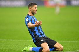 Dwigol Achraf Hakimi bawa Inter menang 3-1 atas Bologna
