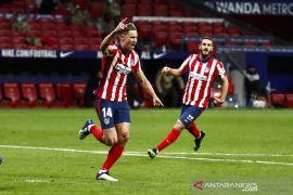 Klasemen Liga Spanyol: Atletico salip Sociedad untuk duduki puncak