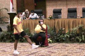 310 siswa SSB di Semarang beraksi di Youth Fun Juggling Competition
