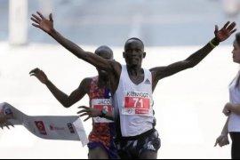 Pelari asal Kenya, Kandie pecahkan rekor dunia half marathon