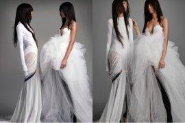 Gaun pengantin yang tak lazim di tangan Vera Wang