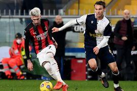 Klasemen Liga Italia: Milan pelihara keunggulan lima poin dari Inter