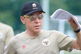 Shin Tae-yong belum puas melihat perkembangan timnas U-19