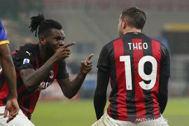 Liga Italia: Dua gol Theo Hernandez selamatkan Milan dari kekalahan