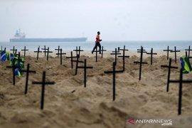 Brazil dekati angka 250 ribu kematian akabat COVID-19
