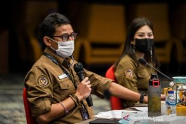 Menteri Sandiaga ingin pelaku pariwisata dapat prioritas vaksinasi