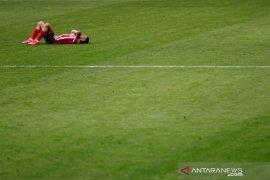 Pemain Atletico Lodi alami cedera paha