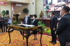 DPRD Manado Sahkan AARS Wali Kota dan wakil wali kota terpilih