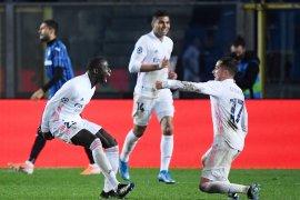 Gol tunggal Mendy amankan kemenangan 1-0 Real di markas Atalanta