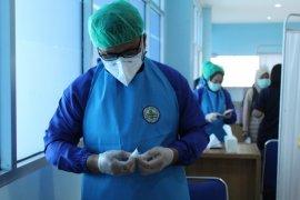 Progres vaksinasi COVID-19 tenaga kesehatan di Lampung capai 85,48 persen