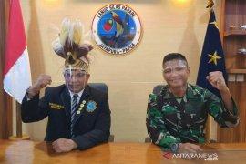 Lanud Silas Papare Jayapura ciptakan lagu daerah mars pemuda adat Papua