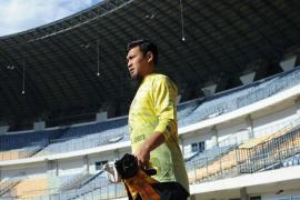 Bayu Fiqri dan Jupe ikut latihan perdana Persib sambut Piala Menpora
