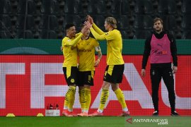 Jadon Sancho antar Dortmund melangkah ke semifinal DFB Pokal