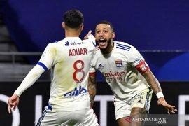 Lyon kembali ke jalur kemenangan, Saint-Etienne dibekuk tim promosi
