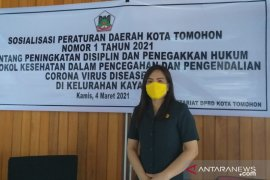DPRD Kota Tomohon sosialisasi Perda COVID-19 tekan penularan