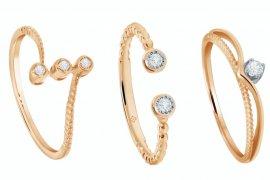 Koleksi perhiasan berlian Moela untuk pemula
