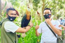 "Humas Polda NTB \""media gathering\"" di Kebun Binatang Lombok Wildlife Park"