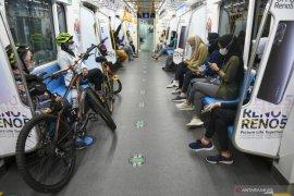 Penumpang MRT April 2021 capai 23 ribu per hari
