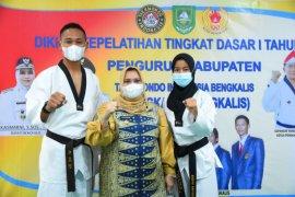 Taekwondoin Bengkalis wakili Riau di PON Papua