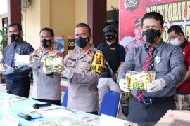 Polisi Muba kembangkan penangkapan kurir narkoba jaringan Riau