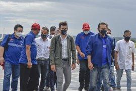 Jelang MotoGP 2021, Dorna Sports cek fasilitas Bandara Lombok