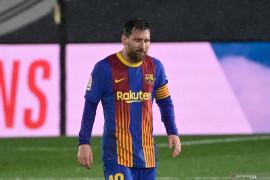 Barcelona kalah, Lionel Messi rasakan puasa gol terlama di El Clasico
