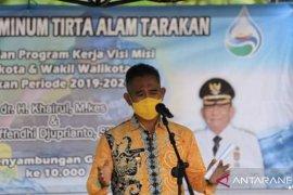 Pemkot Tarakan sediakan 10 ribu sambungan layanan air bersih gratis