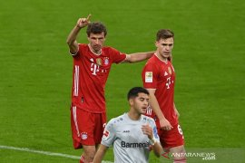 "Liga Jerman - Bayern Muenchen \""kunci\"" gelar juara setelah tundukkan Leverkusen 2-0"