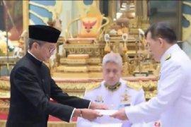 Dubes RI Rachmat Budiman serahkan surat kepercayaan kepada Raja Thailand