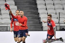 Lille amankan kembali pucuk klasemen seusai bangkit pecundangi Lyon