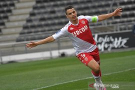 Wissam Ben Yedder bawa Monaco naik ke posisi kedua