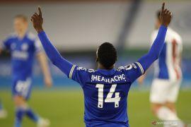 Liga Inggris: Leicester kalahkan  Palace 2-1