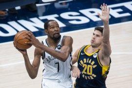 Kevin Durant pimpin Nets kalahkan Pacers