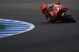 "Marquez merasa ""kurang kuat"" di sesi latihan GP Spanyol"