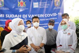 Menaker-Wagub DKI ajak semua pihak tetap semangat hadapi pandemi