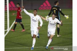 Real Madrid bungkam Osasuna 2-0