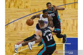 NBA: Magic menang tipis 112-111 atas Grizzlies