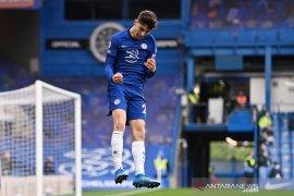 Dua gol Kai Havertz bawa Chelsea bungkam Fulham