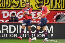 Lille amankan kembali posisi puncak setelah sempat digusur PSG