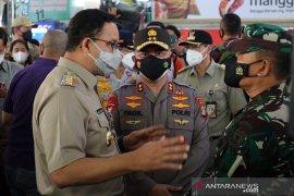 Anies kunjungi Tanah Abang bersama Kapolda Metro dan Pangdam Jaya