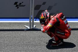 Miller berurai air mata persembahkan kemenangan pertama bagi Ducati