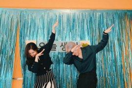 BamBam GOT7 dan Sunmi rayakan ulang tahun bersama