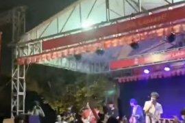 Polisi usut konser musik di Pasar Minggu